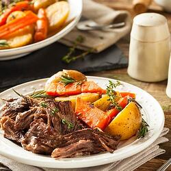Slow Cooker Month Recipe #1 - Shredded Beef