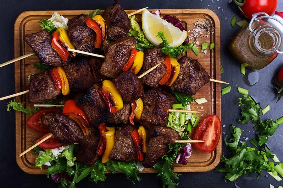 Beef Kabobs