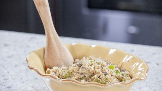 Low Carb Cauliflower Rice Stuffing