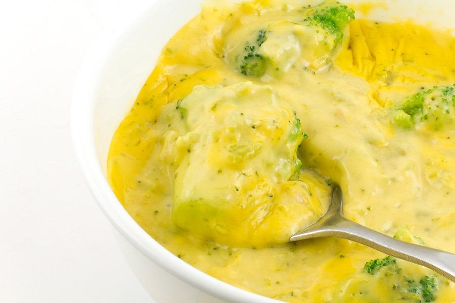 Cheddar Broccoli and Veggie Soup