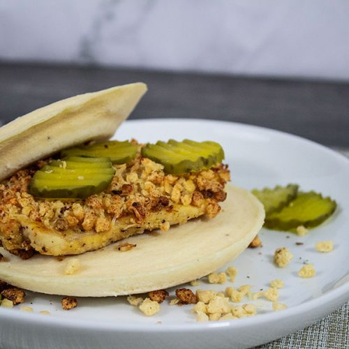 Delicious low-carb copycat of Chick-FIl-A chicken sandwich