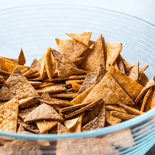 Low carb everything bagel chips are delicious!