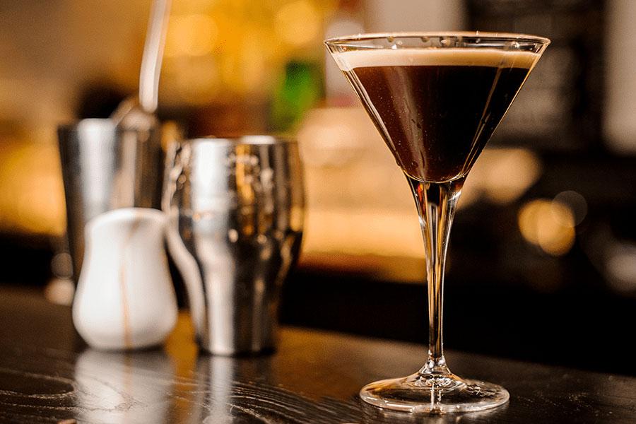 "Chocolate Gingerbread ""Martini"" Shake"