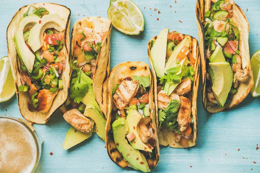 Delicious and Fresh Cilantro Lime Chicken Tacos