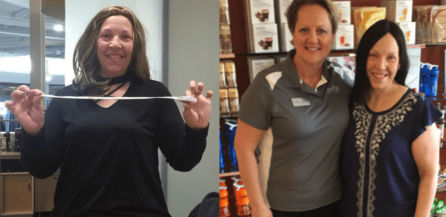 Dawn lost 40 lbs with Profile by Sanford