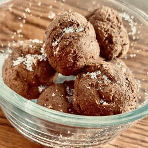 Low carb plant based Air Fryer Donut Holes for weight loss