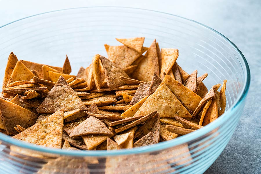 Protein Packed Everything Bagel Chips