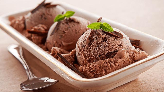 Mint Chip Ice Cream Healthy Recipe