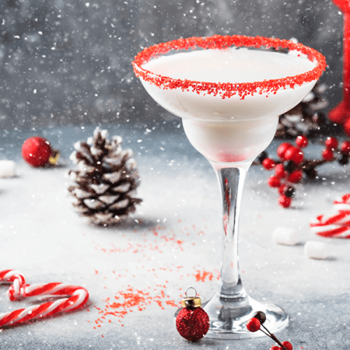 Peppermint Stick 'Martini' Shake