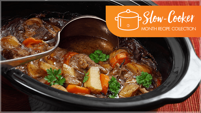 Recipes for National Slow-Cooker Month