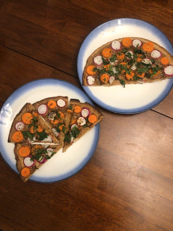 Profile by Sanford Thai Peanut Pizza Recipe