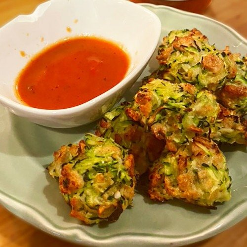 Tasty Zucchini Garlic Bites