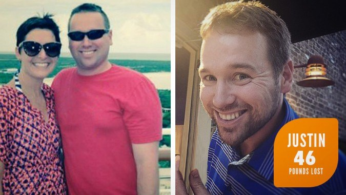 Justin lost 43 Pounds with Profile