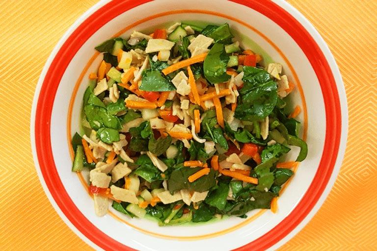 Honey Dill Asian Pasta Salad