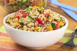 Delicious and Fresh Springtime Quinoa Salad