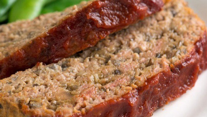 Healthy and Vegetable Loaded Meatloaf