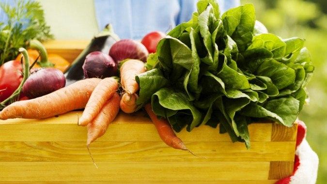 Farmer's Market Veggie Guide