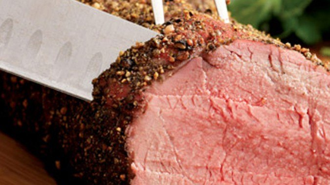 Herb Crusted Tenderloin of Beef