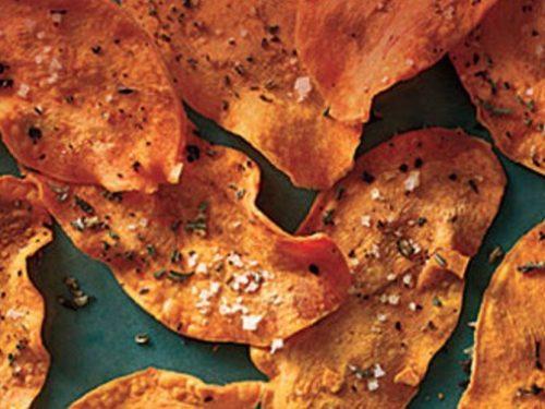 Air Fried Sweet Potato Chips